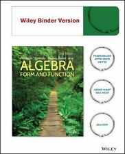 Algebra : Form and Function, Second Edition Binder Ready Version