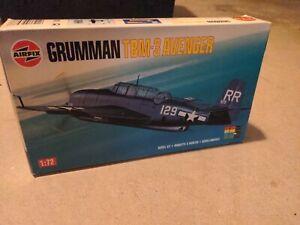 1/72 scale Airfix  US Grumman TBM-3 Avenger Model Kit