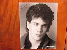 """TED MARCOUX (""""One Life To Live/Ghost in the Machine"""") Signed  8 X 10 B & W Photo"""