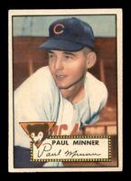 1952 Topps Set Break #127 Paul Minner EX *OBGcards*