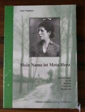 Mein Name ist Meta Herz, Erinnerungen an die jüdische Gemeinde Nümbrecht, Buch