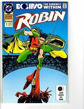 4 Robin DC Comic Books Annual # 1 2 3 4 Batman Catwoman Anarky Eclipso MS8