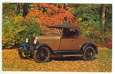 1929 Ford Model A Roadster (Post Card notmailed(autoA#369