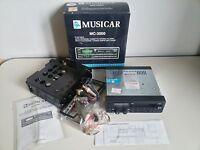 Autoradio Vintage MUSICAR MC 2000 3000 3600 MW/FM MPX GIACENZA NUOVA BOX Manuali