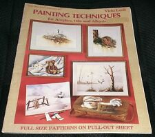 Painting Techniques for Acrylics, Oils & Alkyds Painting Book Vicki Lord Outdoor