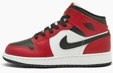 Air Jordan 1 Chicago Black Toe Mid Retro GS Red White 554725-069