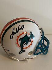 Dan Marino Miami Dolphins signed mini helmet PSA AD43017