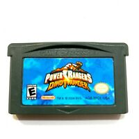 POWER RANGERS: DINO THUNDER NINTENDO GAMEBOY ADVANCE SP GBA - AUTHENTIC