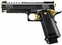 Tokyo Marui HI-CAPA 5.1 Gold match 18 years old over gas blow back