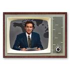 """Norm MacDonald SNL Weekend TV Classic TV 3.5 """" x 2.5 """" Steel Cased FRIDGE MAGNET"""