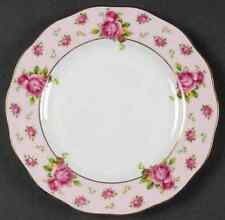 Royal Albert NEW COUNTRY ROSES PINK Vintage Formal Bread & Butter Plate 9359539