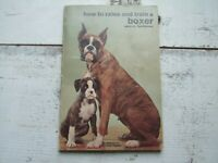 Vtg 1957 How to Raise & Train A Boxer Sara M. Barbaresi Dogs Guide Book How to