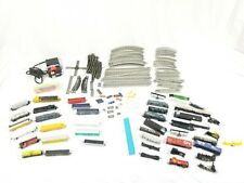 Huge High Speed Electric HO N scale electric train set Lot Track Cars Engines