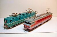 MOTRICE TRAIN HO : LOT 2 LOCOMOTIVES ELECTRIQUES de JOUEF (PIECES OU REPARATION)
