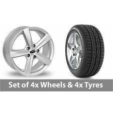 "4 X 17"" Team Dynamics Cyclone Silver Alloy Wheel Rims and Tyres - 205/50/17 Winter PIRELLI W 210 SOTTOZERO S2 (id 13181)"