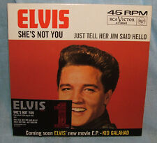 Elvis Presley She's Not You - limited edition numbered CD single