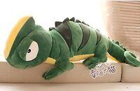 110CM Giant Large Chameleon Lizard Stuffed Animal Plush Toy 1Pc Pillow Soft Doll