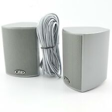 ELTAX Spectrum Surround Sound Speakers - Silver | Front Rear 5.1 7.1 | + Cable