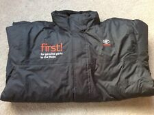 Mens Waterproof Jacket Toyota Brand XXL Black With Quilted Lining