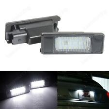 For Peugeot 407 307 308 207 208 Citroen C6 C2 C4 LED Licence Number Plate Light