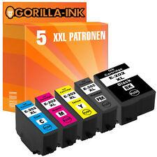 5 Patronen XXL für Epson 202 XL Expression Premium XP-6000 XP-6100 Series
