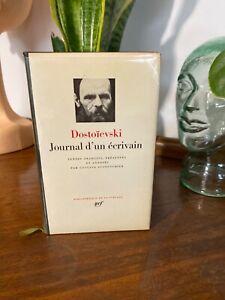 Pléiade Dostoïevski Journal d'un écrivain
