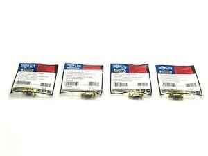 Tripp Lite P160-000 VGA Mini Gender Changer HD15 Female to Female LOT OF 4