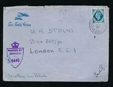 Military, War Air Mail Polish Stamps