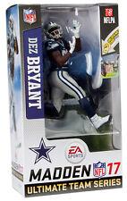 McFarlane NFL Madden 17 Series 3 Dallas Cowboys Dez Bryant Blue Jersey