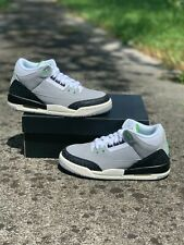 Nike Air Jordan 3 Retro GS Chlorophyll Tinker Smoke Grey 398614-006 Multi-Size