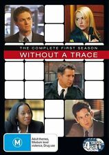 Without A Trace: Season 1 (DVD, 4-Disc Set)  Region 4 - Very Good Condition