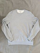 J. Crew Mens Gray french terry crewneck sweatshirt Size Large Tall LT