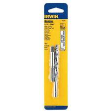 Irwin 80235 Tap and Drill Bit Set, 5/16-18 NC High Carbon Steel Plug Tap, G