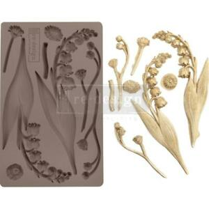 Prima Marketing Mould Mold BELL ORCHIDS Flowers Food Safe Clay Chocolate Resin