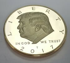 Donald Trump Gold Dollar Film & TV Star The Apprentice Celebrity US President UK