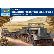 GERMAN TANK TRANSPORTER Sd.Kfz.9 & Sd.Ah.116 TRUMPETER 1/72 PLASTIC KIT