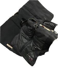 Burberry Nappy Waterproof Bag Black