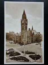 Yorkshire ROCHDALE TOWN CENTRE c1950 RP Postcard by Valentines K125