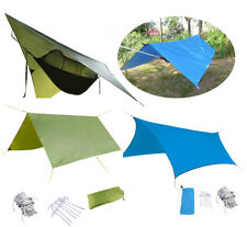 Waterproof Outdoor Camping Tents Tarp Sun Shelter Rain Cover Tarptent Camp Gear