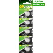 5 x GP CR2032 3V Lithium Coin Cell Battery 2032 DL2032