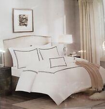 King/Cal King Luxury Collection 1000 TC Cotton 5 Piece Comforter Set, Black