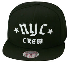"Mitchell & Ness ""NYC CREW"" Snapback Hat Cap For Jordan Retro 3 Cyber Monday"