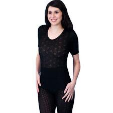 Ladies Delux Thermal Short Sleeve Spencer Underwear Nightwear Ski Wear