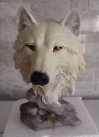Snow Searcher Wolf Fantasy Ornament / Statue 16cm Nemesis Now