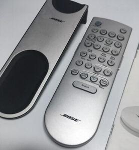 Bose Remote Control Fernbedienung neuwertig Premium Backlit Silver