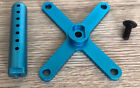 ALLOY Front Body Mount (BLUE) for Duratrax Firehammer Smartech Carson XTM 1/5 RC