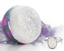 Fragrant Jewels CRYSTAL QUARTZ Bath Bomb w Size 6 Crystal Quartz Druzy Ring