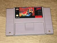 Blackthorne Super Nintendo Snes Cleaned Tested Authentic