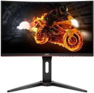 "AOC C24G1 24"" Curved Frameless Gaming Monitor, FHD, 1ms, 144HZ, FreeSync - Black"