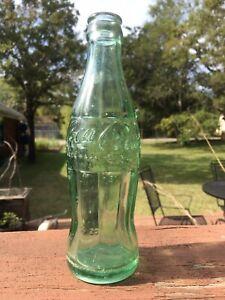 antique coca cola bottle Bastrop Texas hobbleskirt coke bottle